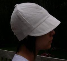 Cap Tutorial and Pattern Free Sewing Pattern from the Hats Free Sewing Patterns Category at Craft Freely Make Your Own Hat, Make Your Own Clothes, Bandanas, Welding Cap Pattern, Welding Caps, Funky Hats, Hat Patterns To Sew, Hat Tutorial, Millinery Hats