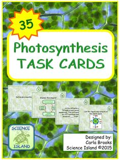 Photosynthesis vs chemosynthesis most living organisms rely on photosynthesis task cards with powerpoint review fandeluxe Choice Image
