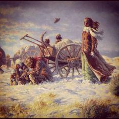 mormon pioneers | mormon pioneers handcarts lds mormon missionary angels god