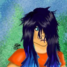 Thalia Grace by @HyruleanPikachu   my second no-line digital art!! I think it turned out pretty good!