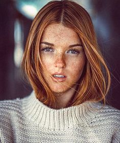 Freckles and redhair! Beauty