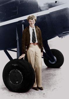 Amelia Earhart, la mujer que nació para volar