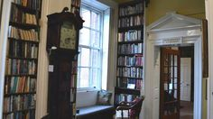Bromley House, Nottingham, in the UK.  A subscription library.  BBC.