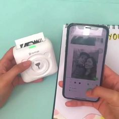 Portable Photo Printer This is a compact printer specially developed to be able to print photos and Happy Birthday Mom Quotes, Mom Birthday, Teenage Birthday Gifts, Birthday Wishlist, Portable Photo Printer, 1000 Lifehacks, Technology Gadgets, Latest Technology, High Tech Gadgets
