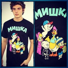 The Harvey Crew Tee by Mishka. Available to purchase at Karmaloop for $54. Current Best Karmaloop's discount: Get 31% Off & Free Shipping on all orders at Karmaloop!!! NO MINIMUM REQUIRED!! Combine RepCode: SALES & PromoCode: YETI30. For more Karmaloop codes, visit http://www.Karmaloop-Codes.com  #karmaloop #fashion #clothing #clothes #swag #streetwear #clothing #fresh #pretty #cute #dope #mishka #tshirt #harvey #casper #babyhuey #wendy #richierich