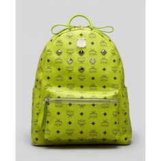Mcm Backpack - Stark Medium Sprinkle Stud ($685) ❤ liked on Polyvore featuring bags, backpacks, mcm, mcm backpack, backpack bags, daypack bag, studded bag and mcm rucksack