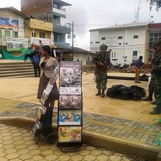 Public witnessing in Colombia.