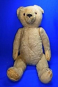 Vintage German Stuffed Animal Teddy Bear Hermann