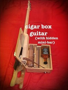 Gift idea cigar box guitar