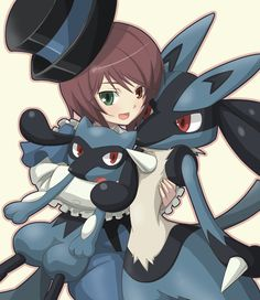 Souseiseki the 4th Rozen Maiden sister and Lucario