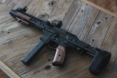 Pistol caliber ARs in and more are becoming increasingly popular. Find out why a pistol caliber AR can make a lot sense for the average urban gun owner. Ar Pistol Build, Ar15 Pistol, Ar Build, M4 Carbine, Weapons Guns, Guns And Ammo, Ar 15 Builds, Battle Rifle, Submachine Gun