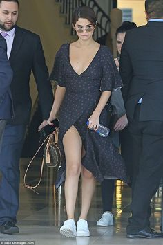Twice as nice! Selena Gomez turned heads twice in a row as she was spotted out in Los Ange...