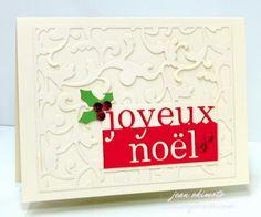 Memory Box Holiday-Memory Box Elliana Background-Memory Box Grand Joyeux Noel-Memory Box Ho Ho Holly Leaves-Christmas-Diecuts-Jean Okimoto
