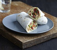 Hummus and Monterey Jack Wraps :: Recipes :: MyPanera
