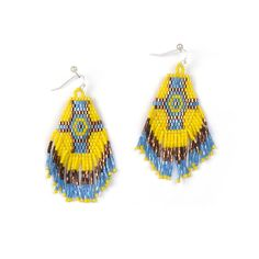 New Arrivals Bohemia Handmade Weave Drop Earring Ethnic Style Jewelry for women Ladies Best Gift Bijoux  VE018 #Affiliate