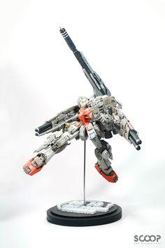 GUNDAM GUY: FA 78-1 Gundam Heavy Type Camaro - Custom Build