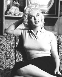 MM photographed in 1955