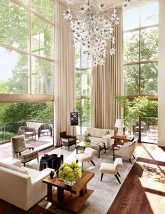 Contemporary Living Room by McAlpine Booth Ferrier Interiors