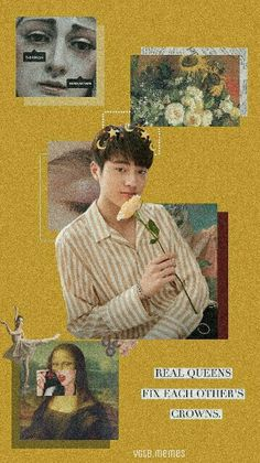Golden Treasure, Babe, Real Queens, Treasure Boxes, Kpop Aesthetic, Iphone Wallpaper, My Love, Solomon, Aesthetics