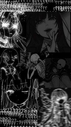 Anime girl. Wallpaper