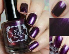 Baroness X + Tonic Nail Polish Beauty Review, Cool Nail Art, Mani Pedi, Diy Tutorial, Pretty Nails, Best Makeup Products, Nail Colors, Bath And Body, Nail Polish