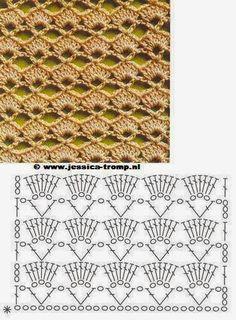Letras e Artes da Lalá: Ponto de crochê
