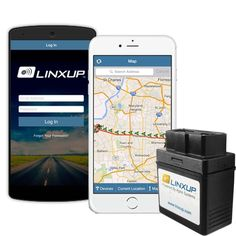 Linxup OBD with 3G GPS Service & GPS System Vehicle Tracking Device Car GPS L