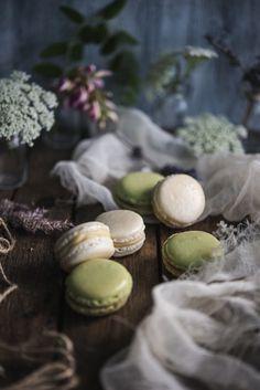 green, lavender, cream