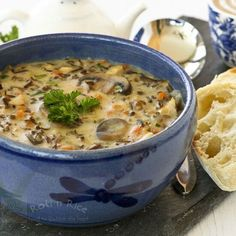 Chicken Wild Rice Soup by rotinrice #Soup #Chicken #Rice