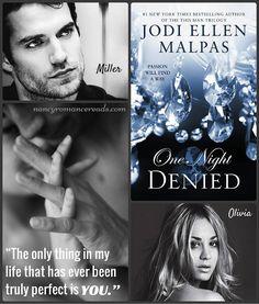 Nancy's Romance Reads: Book Review: DENIED by Jodi Ellen Malpas