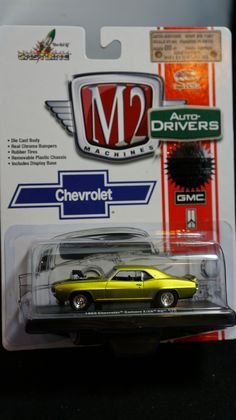 Greenlight M2 Machines Auto World Hot Wheels more Whats New In Diecast : M2 Machines Drivers Release 30 1969 Chevrolet Cama...