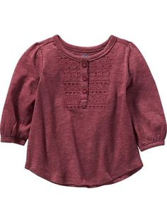 Embroidered-Yoke Top for Baby Product Image