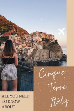 This Cinque Terre Italy Travel Guide contains everything you need to know about this beautiful bucket list destination. There's so many things to do in the Cinque Terre villages: Monterosso, Vernazza, Corniglia, Manarola, and Riomaggiore. From hiking to hitting the beach! Find out more in this post!! #CinqueTerre #Italy #Travel #Guide #Tips
