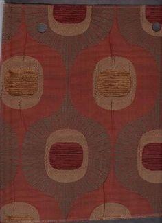 Elway Rust - www.BeautifulFabric.com - upholstery/drapery fabric - decorator/designer fabric