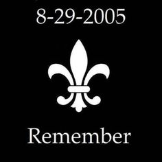 Yes, let's remember this was the day Hurricane Katrina hit. But let's also remember that the eye of the storm hit the Mississippi Gulf Coast.NOT New Orleans, LA. ☆ Love ☆ ❤♔Life, likes and style of Creole-Belle ♥ Louisiana Homes, New Orleans Louisiana, New Orleans Saints, Louisiana Bayou, Louisiana History, Mardi Gras, Hurricane Katrina, Hurricane Betsy, All Things New