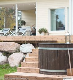 Outdoor Spaces, Outdoor Living, Nordic Style, Coastal Style, Outdoor Furniture, Outdoor Decor, Modern Farmhouse, Terrace, Cottage