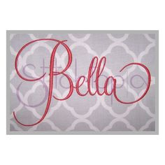 Stitchtopia Bella Monogram Set Small