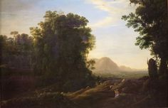 The Athenaeum - Landscape with a Piping Shepherd (Claude Lorrain - )