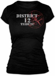 Camiseta chica The Hunger Games (Los Juegos del Hambre) Distrito 12 Tribute