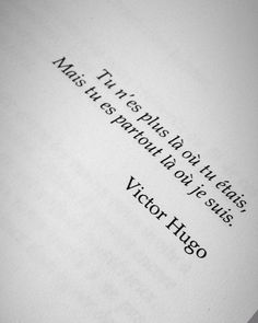 Victor Hugo, Phrase Tattoos, Tattoo Quotes, Sad Breakup, Sweet Words, Unconditional Love, Love Life, Quotations, Love You