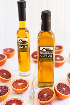 ">Our Blood Orange extra virgin olive oil is made by pressing tree-ripened blood oranges together with late, fully ripe black olives, a process which captures the sweetness of the fruit and delicate oils from the rind. An incomparable treat. </span></p> <p> <span style=""font-size:14px;"">Bursting with fresh flav..."