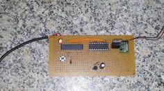 Transmissão de temperatura com LM35