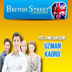 Yds hazırlık kurslarında uzman kadro ve binlerce materyal desteği ile British Street dil okulları.