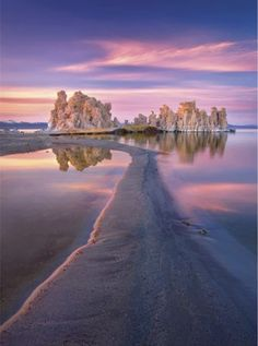 Mono Lake is a large, shallow saline soda lake in Mono County, California, formed at least 760,000 years ago as a terminal lake in a end...