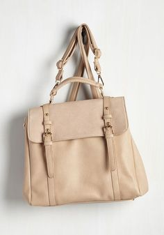 Stop, Rock, and Roll Convertible Bag in Latte | Mod Retro Vintage Bags | ModCloth.com