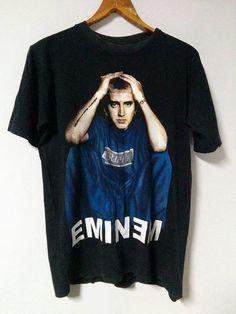 Vintage 90s 00s EMINEM size M rapper slim shady rabbit 3d7e9cdbd14