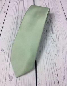 Mens Light Green Fashion Necktie JC Penney The Men's Shop | eBay