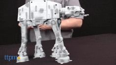 Everyone's talking about BB-8, but there's a walking AT-AT too!