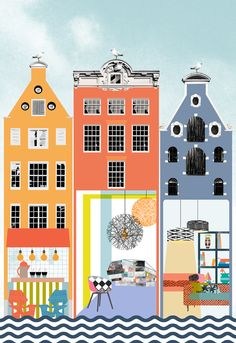 Cover Illustration for Global Blue's Shop Magazine by Eda Akaltun