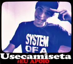 Camiseta System Of A Down #EuApoio